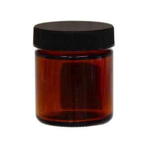 茶色ガラスクリーム容器50ml